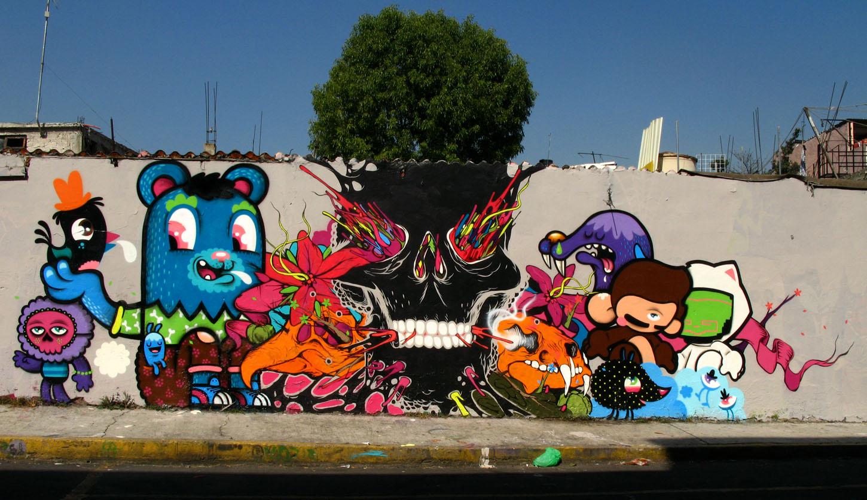 schattige en stoere graffiti