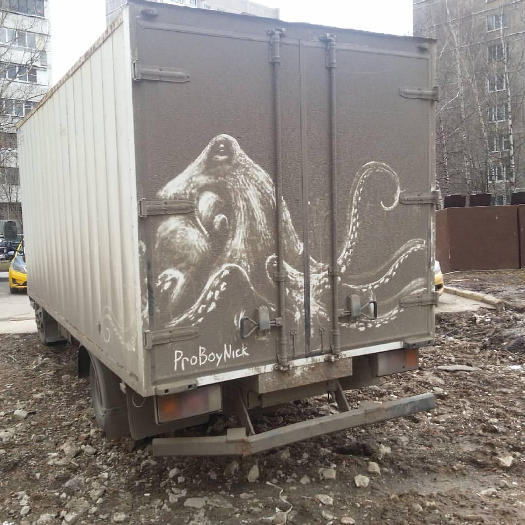 gedetailleerde octopus